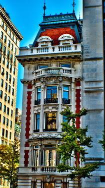 New York .A building at opposite site of Metropolitan Art. by Maks Erlikh