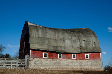 Old-red-barn