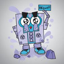 Hello Squarebots by dean-valentino