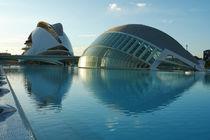 Valencia, Hemisfèric und Palau de les Arts by Frank Rother