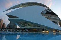Valencia, Palau de les Arts 6 by Frank Rother