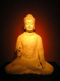 [China] - Buddha statue von Dave ten Hoope