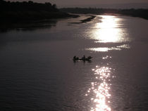 [Egypt] - Sunset at the river Nile von Dave ten Hoope