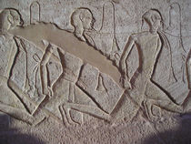 [Egypt] - Carvings of Nubian slaves von Dave ten Hoope