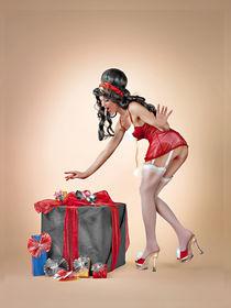 merry christmas. von René de Brunn