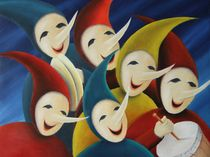 Carnival band von Serge Vandenberghe