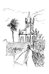 Igreja da Lomba, Flores Island, Azores 2007  by Javier Alcázar