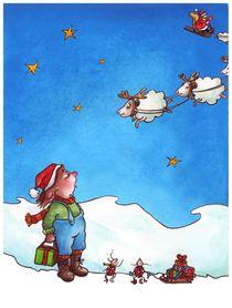 Schafschlitten-himmel