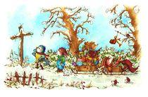 Der Weihnachtsmann ist ein Hase von Katja Kiefer