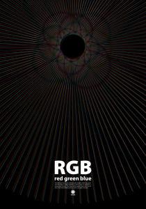 RGB poster by Pawel Pilat