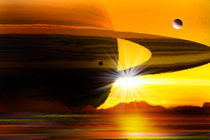 Saturns ferner Bruder. by Bernd Vagt