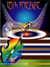 Rock Forever von Oscar Vela
