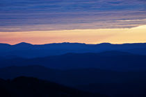 Layers of morning colors by Carl Tyer