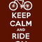 Keep-calm-ride-on-brown