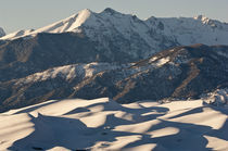 Great Sand Dunes Winter by Barbara Magnuson & Larry Kimball