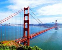 The Majestic Golden Gate Bridge von Larry Eiring