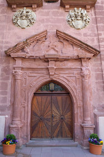 Portal of a church by safaribears