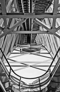 Metal Architecture B/W von axvo-fotografie