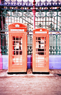 Phone boxes by Giorgio Giussani