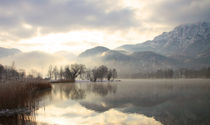 Winter magic at Lake Kochelsee by Eva Stadler