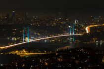 Bosphorus Bridge from Camlica Hill by Evren Kalinbacak