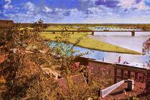 Blick auf die Elbe by pahit