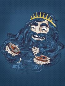 'Beard of Neptune' von camila matos de castro