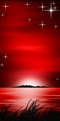 Roter Horizont. by Bernd Vagt