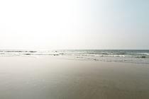 Himmel Wasser Sand II von Eduard Warkentin