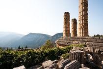 Der Tempel des Apollo von Eduard Warkentin
