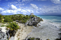 Mayan city of Tulum by Craig S