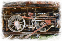Classic train wheels von Graham Prentice