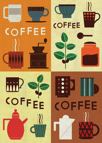Retro Coffee Series 2012 by Benjamin Bay