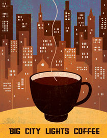 Manhattan Coffee III by Benjamin Bay
