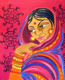 Hindu Woman by Katri Ketola
