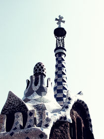 Barcelona Gaudi Park house by marga-sol