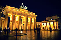 Brandenburg Gate - Berlin, Germany von marga-sol
