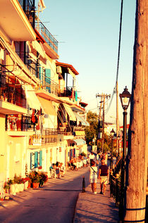 Old City street of Parga, Greece by marga-sol