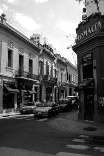 Street in Buenos Aires by Adriana Schiavon