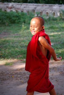 The little monk of Mingun von RicardMN Photography