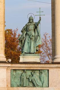 Szent Istvan sculpture by Evren Kalinbacak