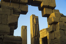 Temple of Karnak In Evening Light by Wolfgang Kaehler