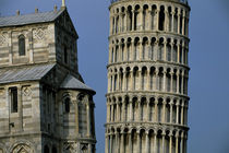Cathedral and Leaning Tower of Pisa by Wolfgang Kaehler