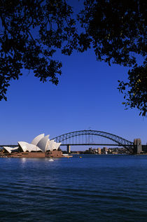 View of Opera House and Sydney Harbour Bridge von Wolfgang Kaehler
