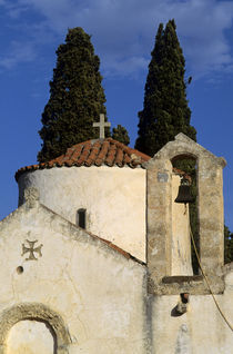 Byzantine Church of Panayia Kera by Wolfgang Kaehler