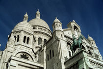 Sacre Coeur (Church) Above Montmartre by Wolfgang Kaehler