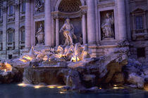 Trevi Fountain at Night by Wolfgang Kaehler
