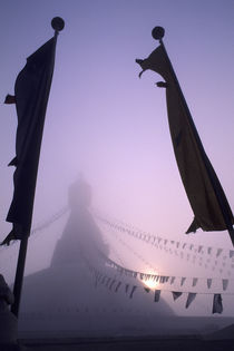 Prayer Flags by Wolfgang Kaehler