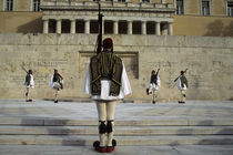 Changing of the Guard Ceremony by Wolfgang Kaehler