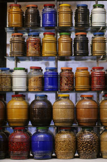 Spices for Sale by Wolfgang Kaehler